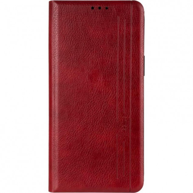 Book Cover Leather Gelius New for iPhone 12 Pro Max Red