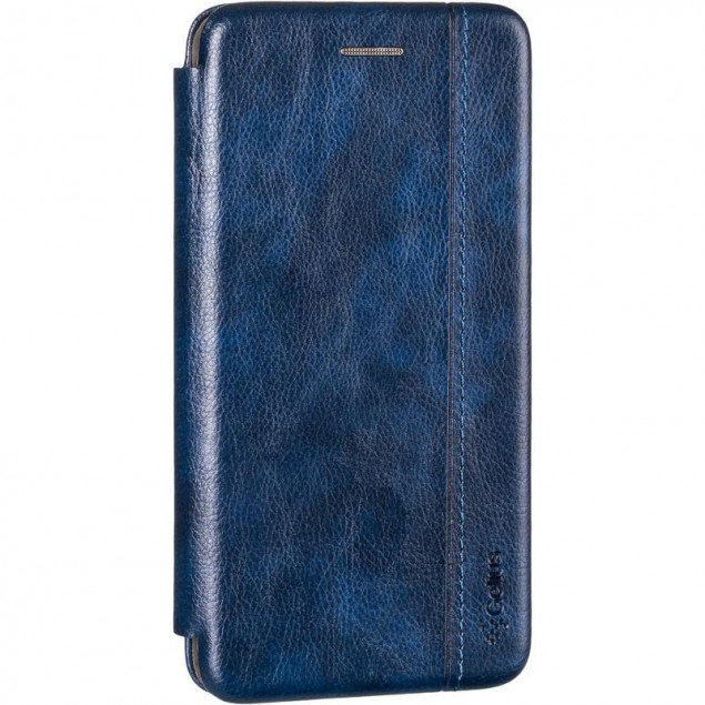 Book Cover Leather Gelius for Huawei Y5 (2019) Blue