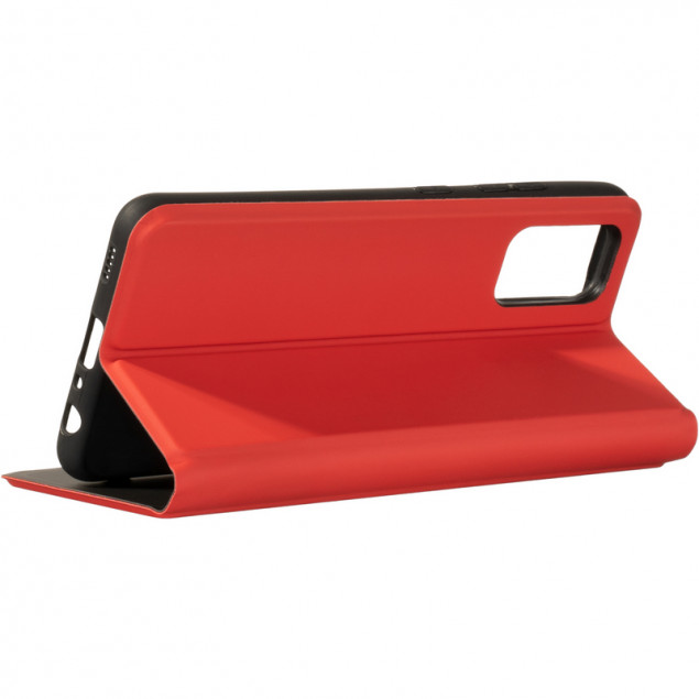 Book Cover Gelius Shell Case for Samsung A325 (A32) Red