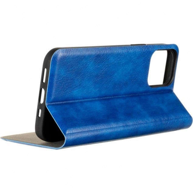 Book Cover Leather Gelius New for iPhone 12/12 Pro Blue