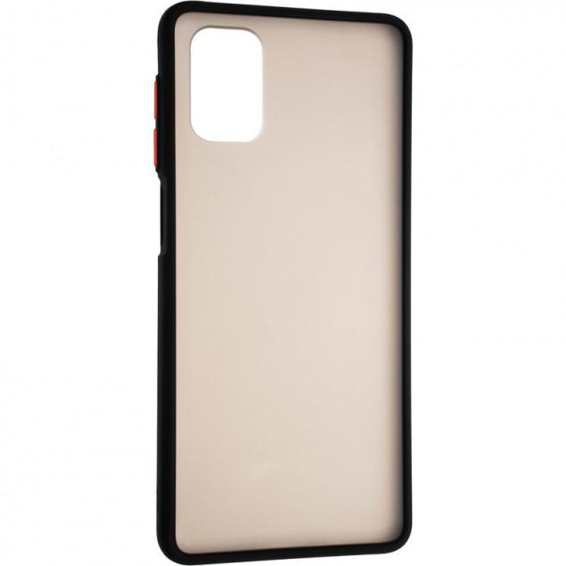 Gelius Bumper Mat Case New for Samsung A022 (A02) Black