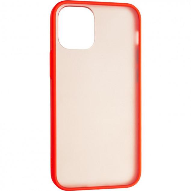 Gelius Bumper Mat Case for iPhone 12 Mini Red