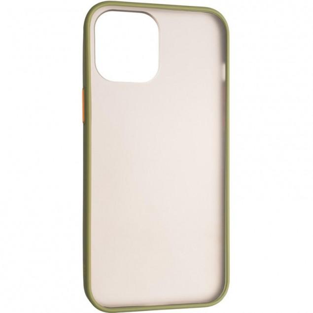 Gelius Bumper Mat Case for iPhone 12 Pro Max Green