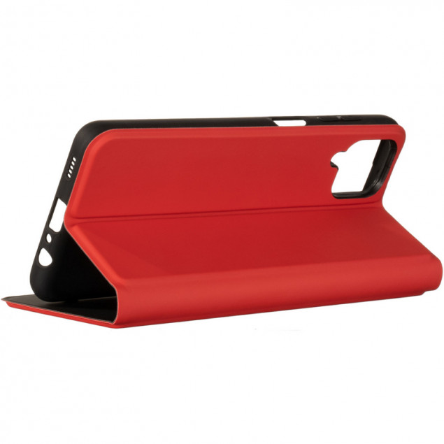 Book Cover Gelius Shell Case for Samsung A125 (A12)/M127 (M12) Red
