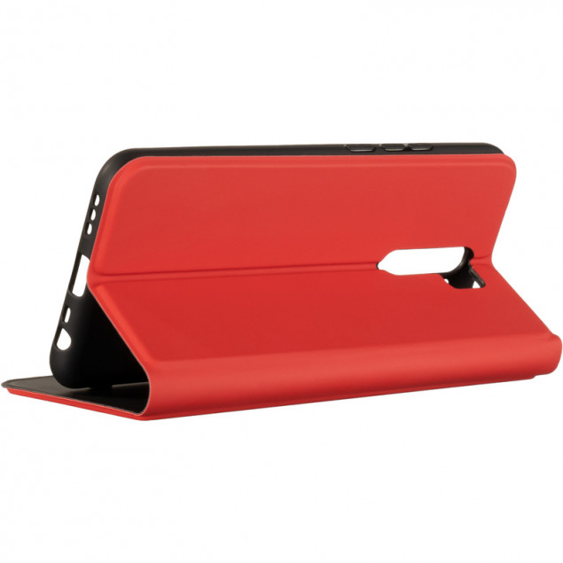 Book Cover Gelius Shell Case for Xiaomi Redmi 9 Red