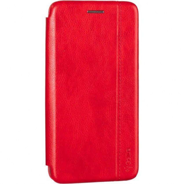Book Cover Leather Gelius for Xiaomi Redmi 7a Red