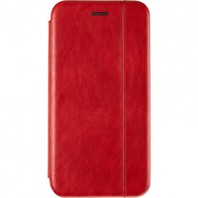 Book Cover Leather Gelius for Huawei Y6P Red