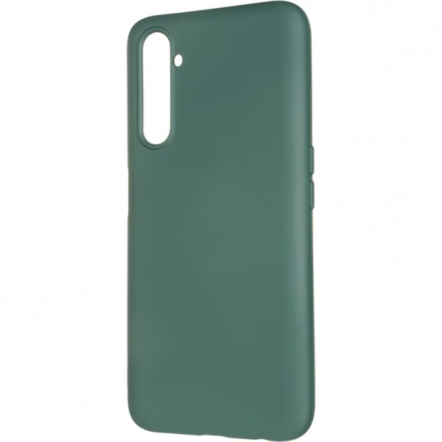 Full Soft Case for Realme 6 Pro Dark Green