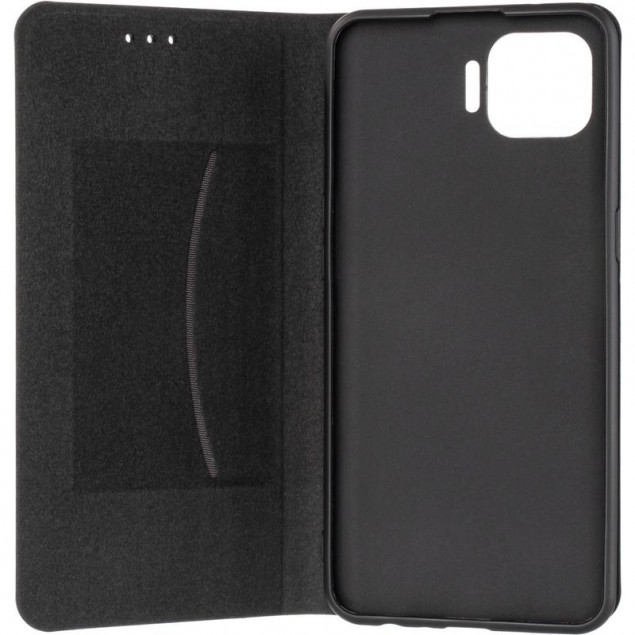 Book Cover Leather Gelius New for Oppo Reno 4 Lite/A93 Black