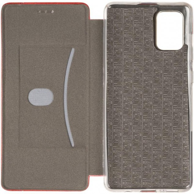 Book Cover Leather Gelius for Samsung A715 (A71) Red