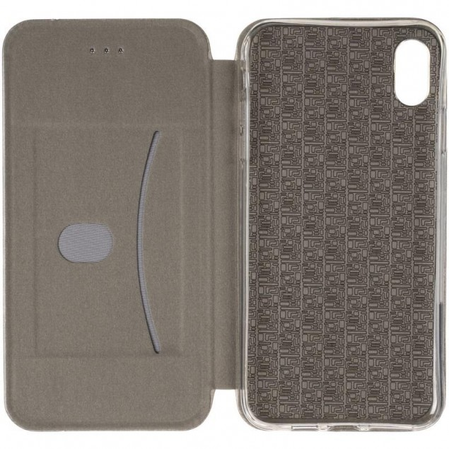 Book Cover Leather Gelius for iPhone XS Max Grey