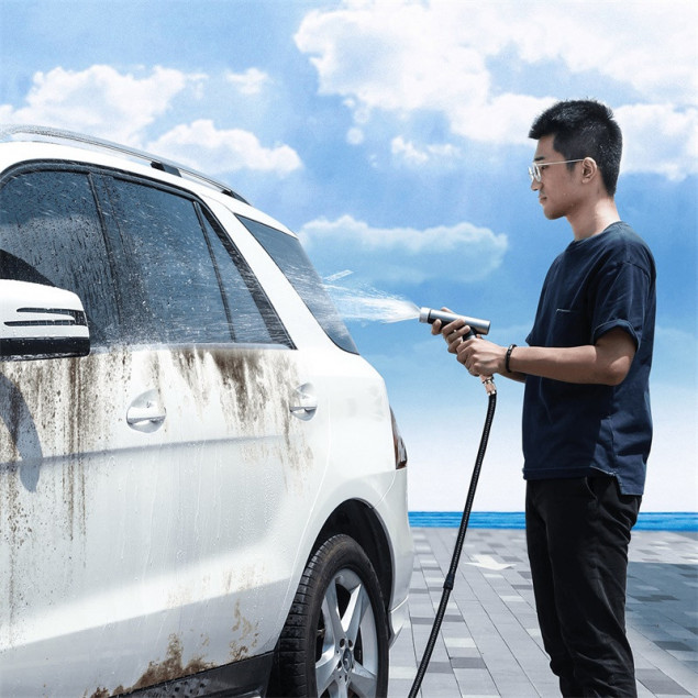 Baseus Simple Life Car Wash Spray Nozzle 15m (CRXC01-B01) Black