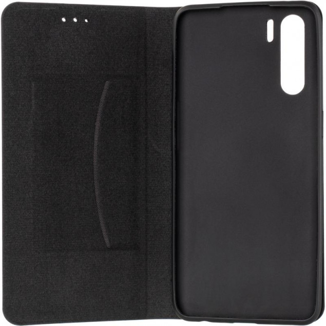 Book Cover Leather Gelius New for Oppo A91 Black