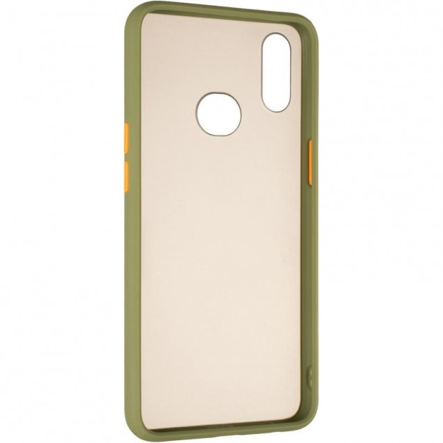 Gelius Bumper Mat Case for Samsung A107 (A10s) Green