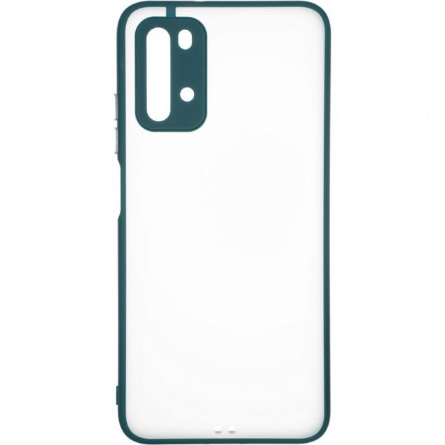 Gelius Bumper Mat Case New for Xiaomi Redmi 9Т Green