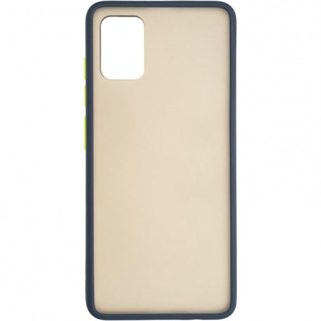 Gelius Bumper Mat Case for Samsung A515 (A51) Blue