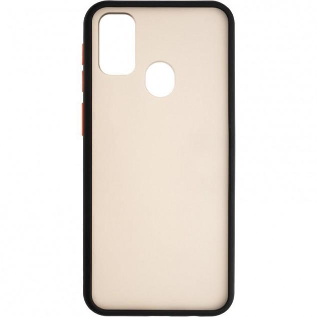 Gelius Bumper Mat Case for Samsung M307 (M30s)/M215 (M21) Black