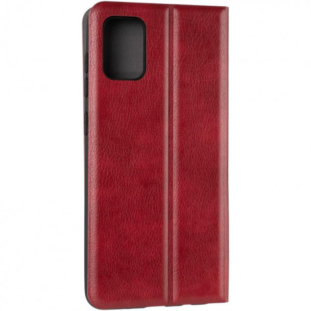 Book Cover Leather Gelius New for Samsung A315 (A31) Red
