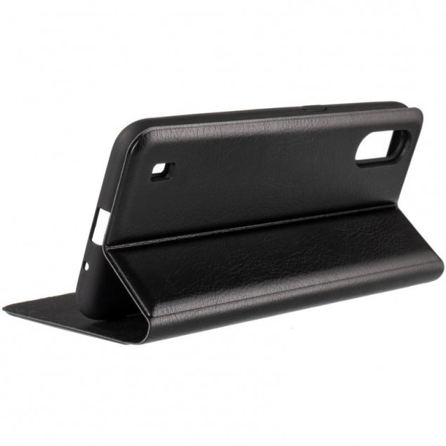 Book Cover Leather Gelius New for Samsung A015 (A01)/M015 (M01) Black