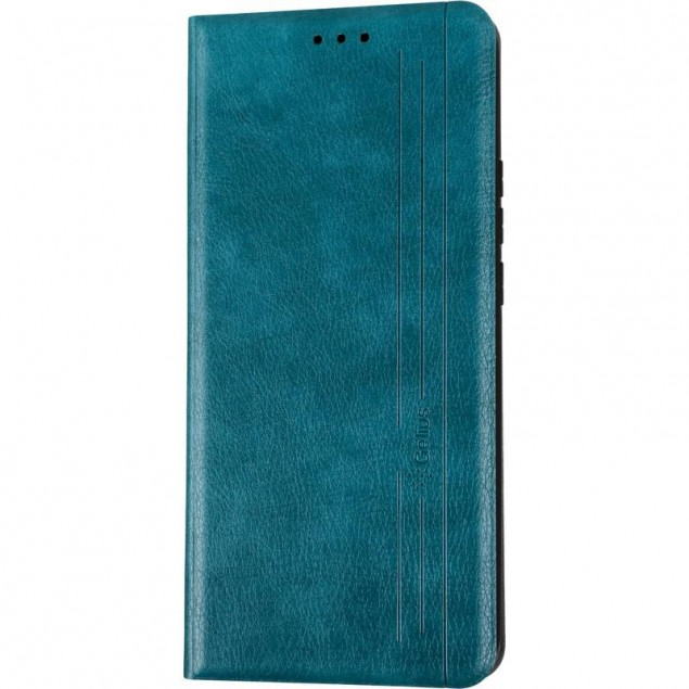 Book Cover Leather Gelius New for Xiaomi Redmi 9 Green