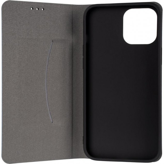 Book Cover Leather Gelius New for iPhone 12 Pro Max Blue