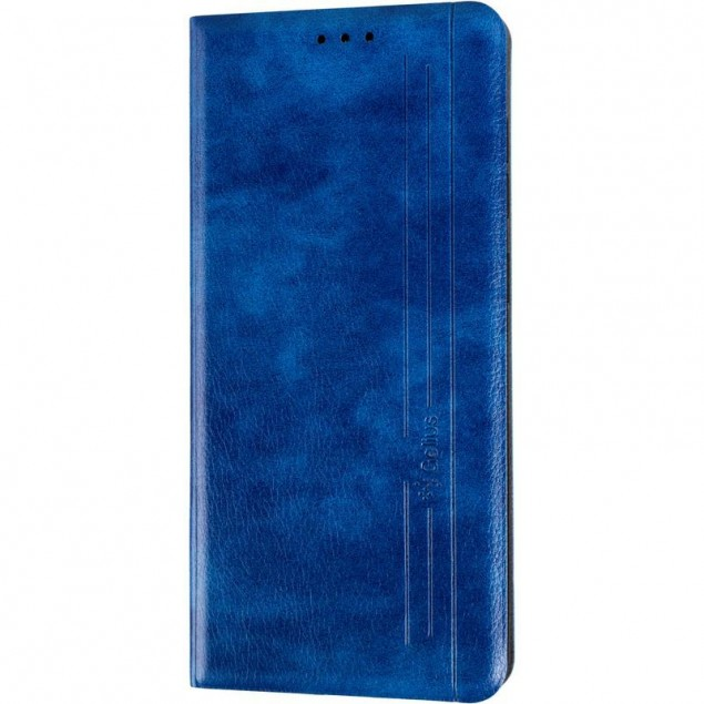 Book Cover Leather Gelius New for Samsung A715 (A71) Blue