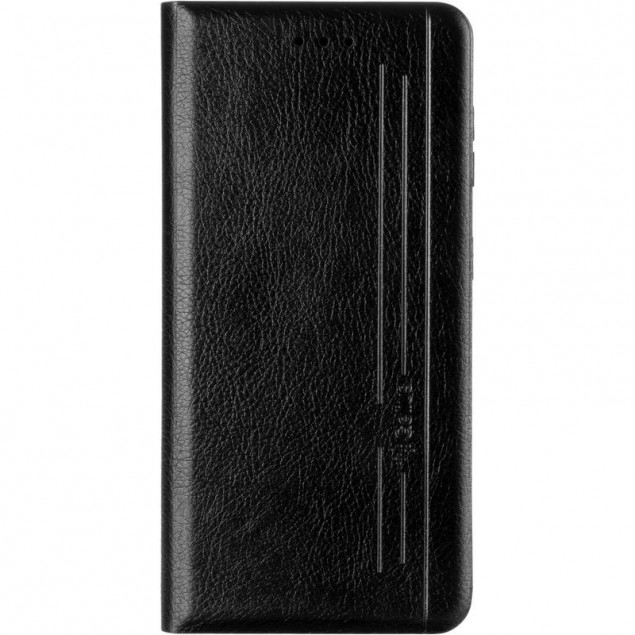 Book Cover Leather Gelius New for Samsung G991 (S21) Black