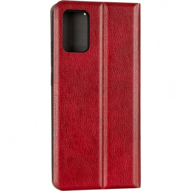 Book Cover Leather Gelius New for Samsung A025 (A02s) Red