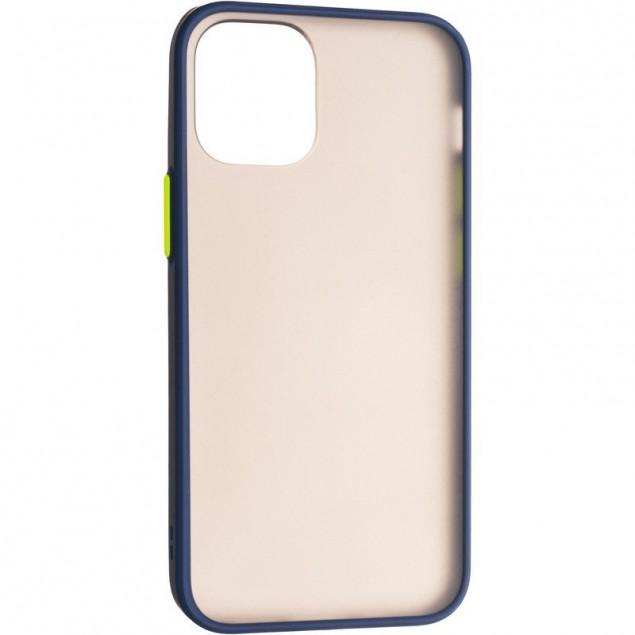 Gelius Bumper Mat Case for iPhone 12 Mini Blue