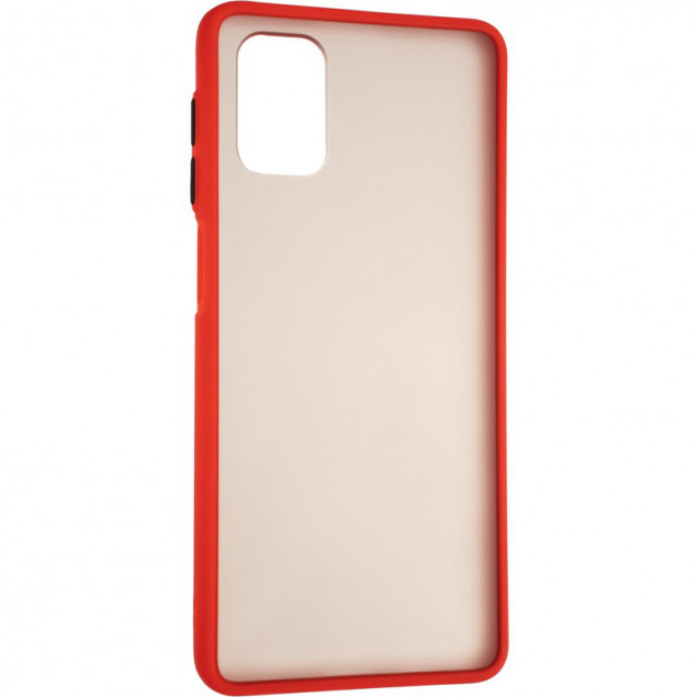 Gelius Bumper Mat Case for Tecno Pova Red