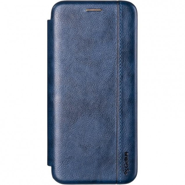 Book Cover Leather Gelius for Samsung A315 (A31) Blue