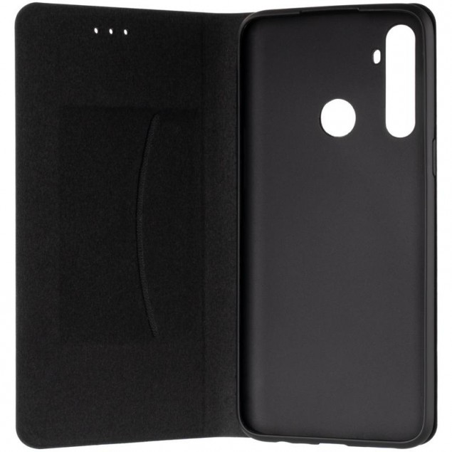 Book Cover Leather Gelius New for Realme 6i Black