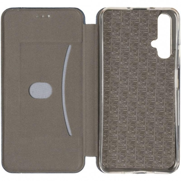 Book Cover Leather Gelius for Huawei Nova 5t Blue