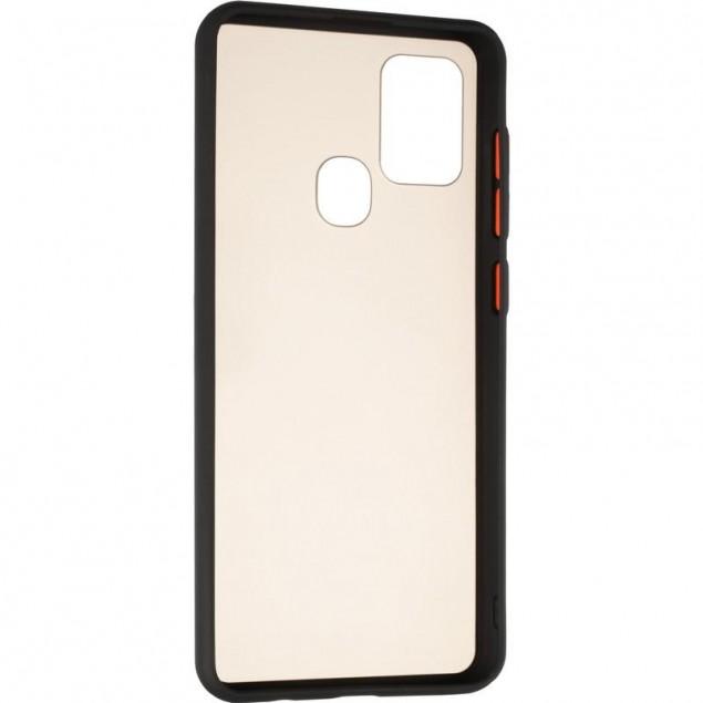 Gelius Bumper Mat Case for Samsung A217 (A21s) Black