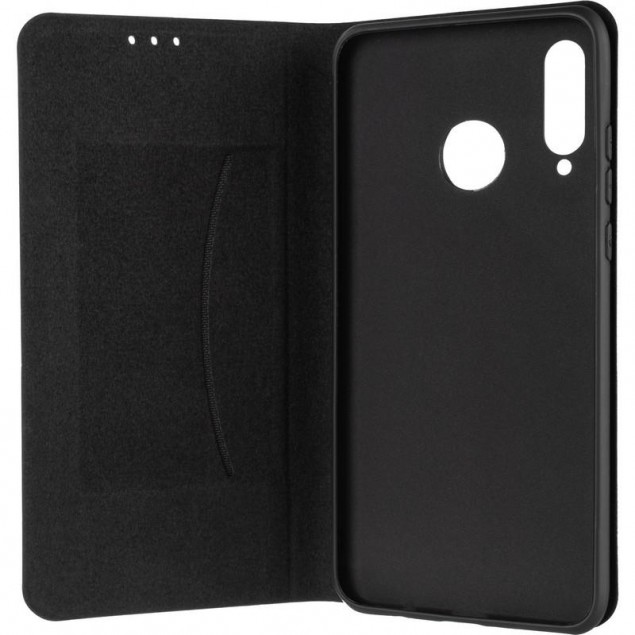 Book Cover Leather Gelius New for Huawei P30 Lite Black