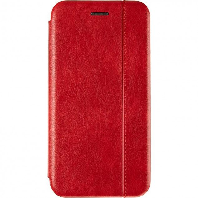 Book Cover Leather Gelius for Xiaomi Redmi Note 8 Pro Red