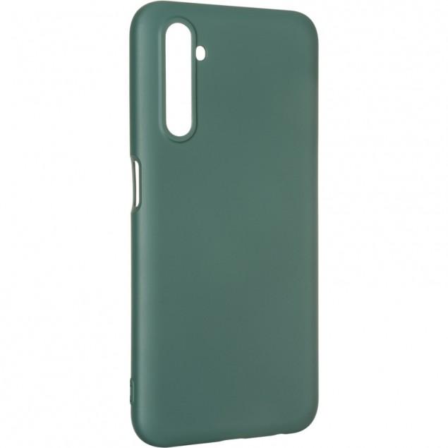 Full Soft Case for Realme 6 Dark Green