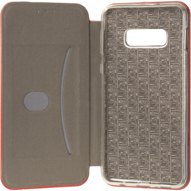 Book Cover Leather Gelius for Samsung G970 (S10e) Red