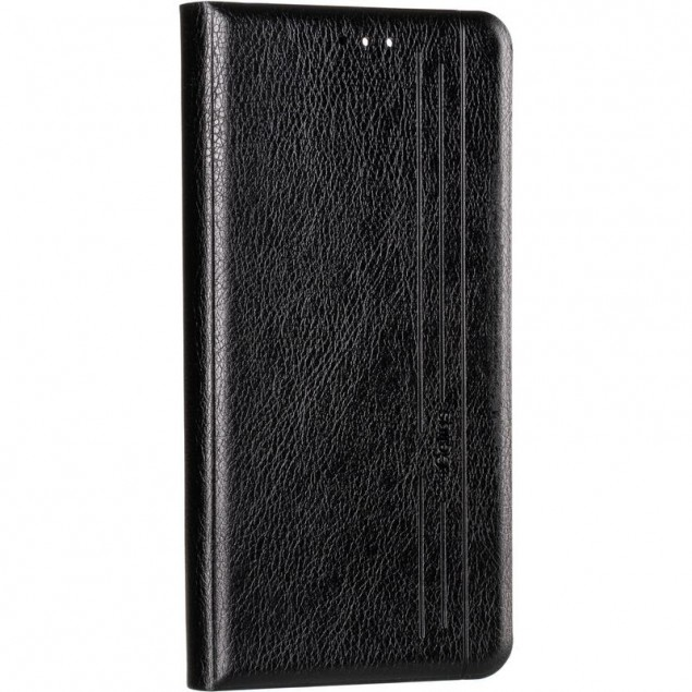Book Cover Leather Gelius New for Oppo A73 Black