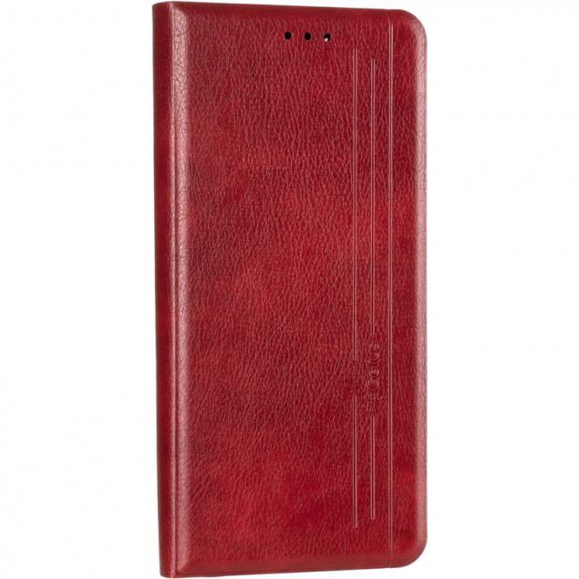 Book Cover Leather Gelius New for Oppo A32/A53 Red