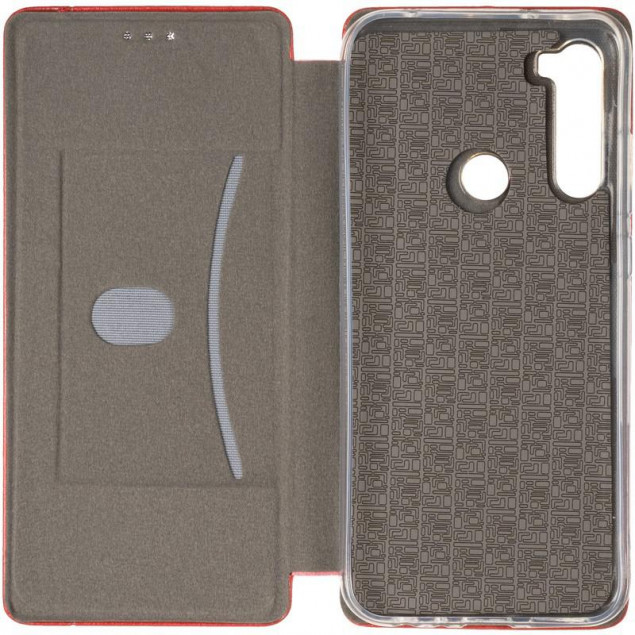 Book Cover Leather Gelius for Xiaomi Redmi Note 8t Red