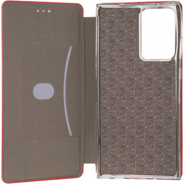 Book Cover Leather Gelius for Samsung N985 (Note 20 Ultra) Red