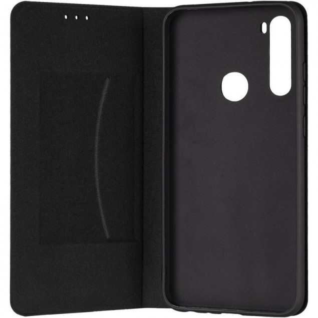 Book Cover Leather Gelius New for Xiaomi Redmi Note 8t Black