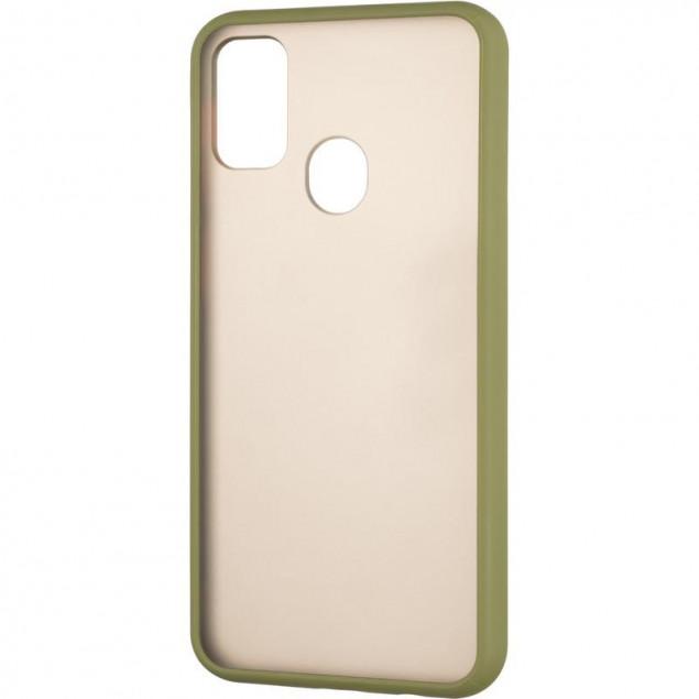 Gelius Bumper Mat Case for Samsung M307 (M30s)/M215 (M21) Green