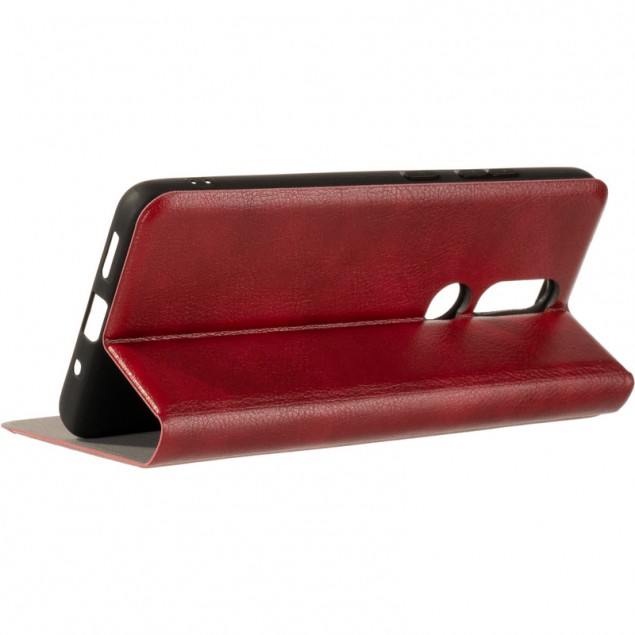 Book Cover Leather Gelius New for Nokia 2.4 Red