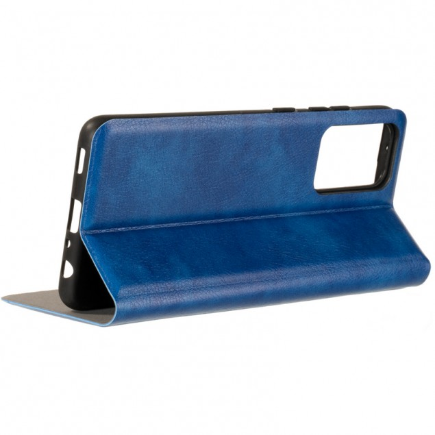 Book Cover Leather Gelius New for Samsung A725 (A72) Blue