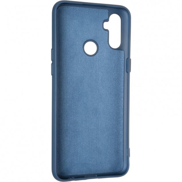 Full Soft Case for Realme C3 Dark Blue