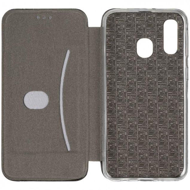 Book Cover Leather Gelius for Samsung A405 (A40) Black