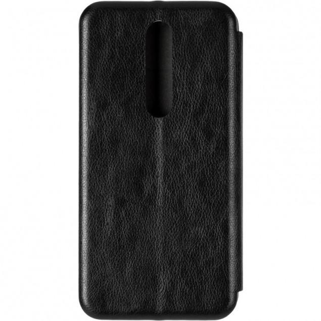 Book Cover Leather Gelius for Nokia 5.1 Plus Black