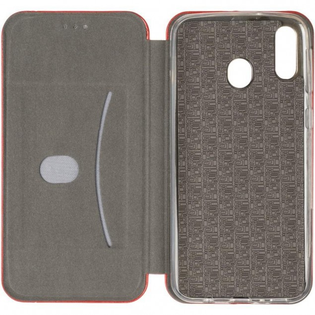 Book Cover Leather Gelius for Samsung M205 (M20) Red